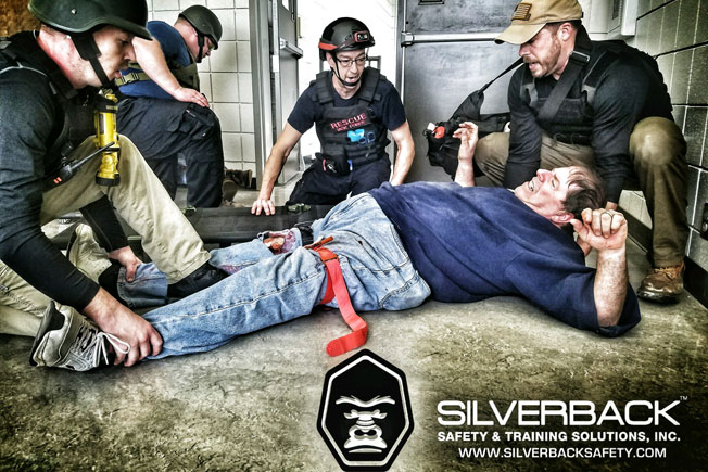 Silver Back Safety Training Rescue Task Force Emergency Casualty Care 55