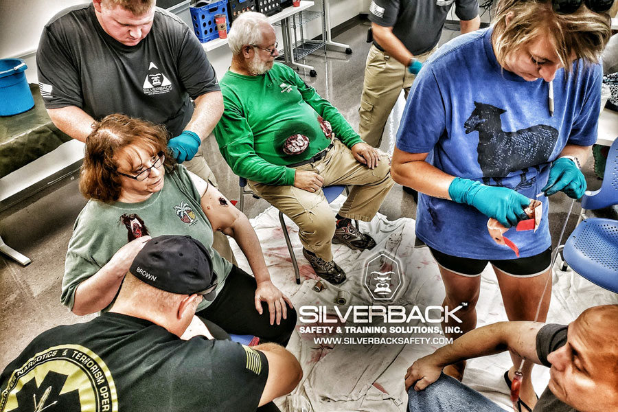 Silver Back Safety Training SASA BITT Training 5