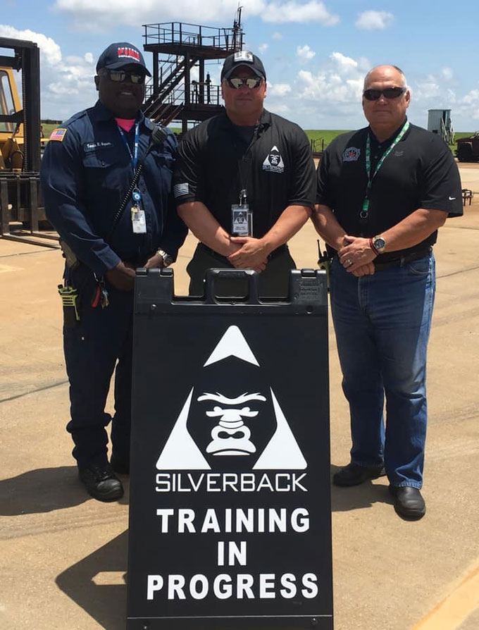 Silverback Safety Training Chevron Fire Department